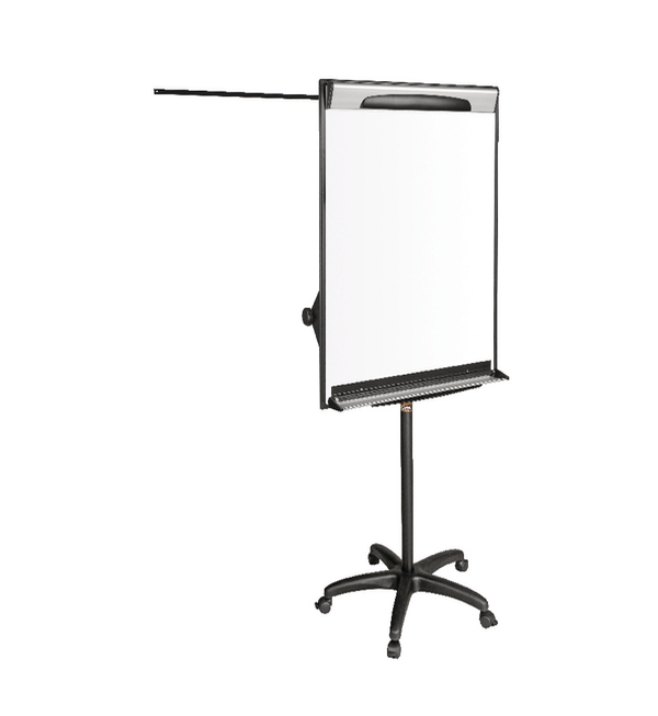 Bi-Office Mobile Magnetic Flipchart Easel 700 x 1000mm EA48061823