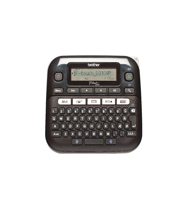 Brother P-Touch PT-D210VP Desktop Label Printer Black PTD210VP