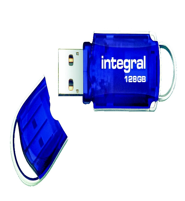Integral Courier Flash Drive USB 2.0 128GB INFD128GBCOU