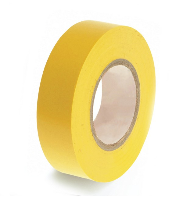Consumables.com™ PVC Insulation Tape, 130mu, 19mm x 33m
