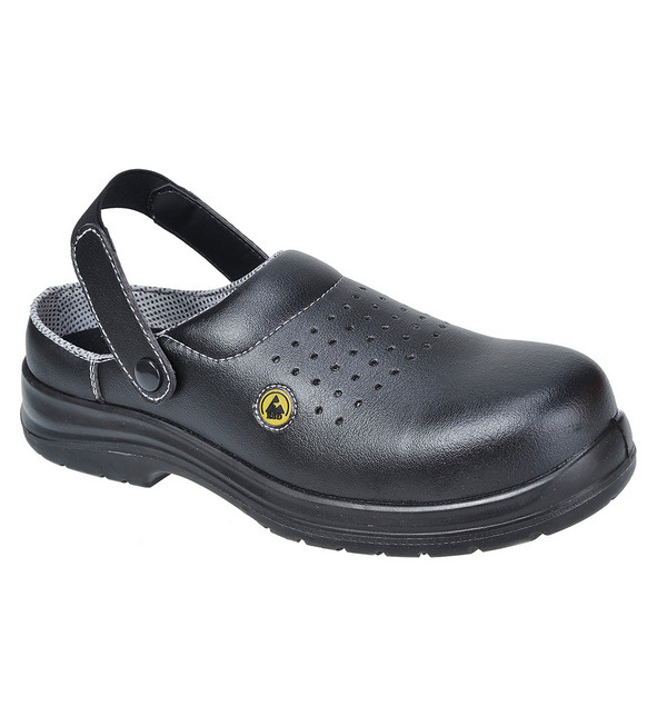 Portwest® FC03 Compositelite™ ESD Perforated Safety Clog SB AE