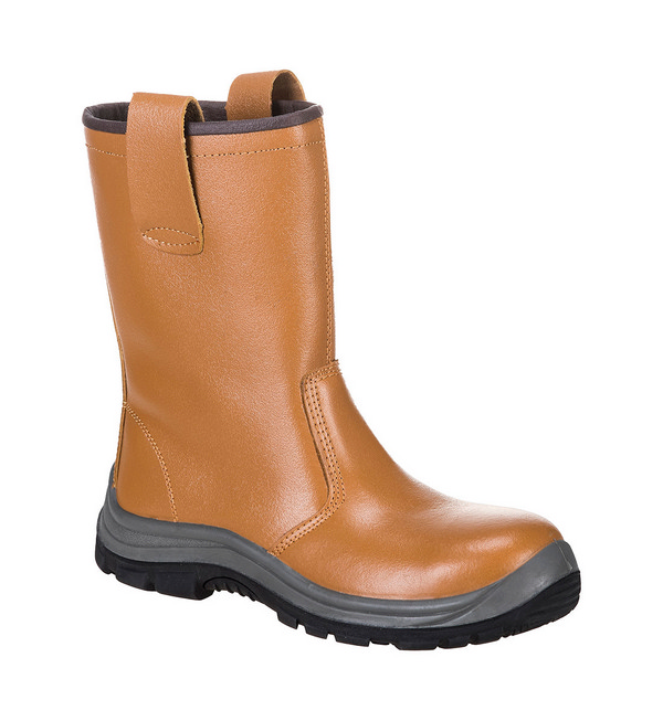 Portwest® FW06 Steelite™ Rigger Boot S1P HRO (Unlined)