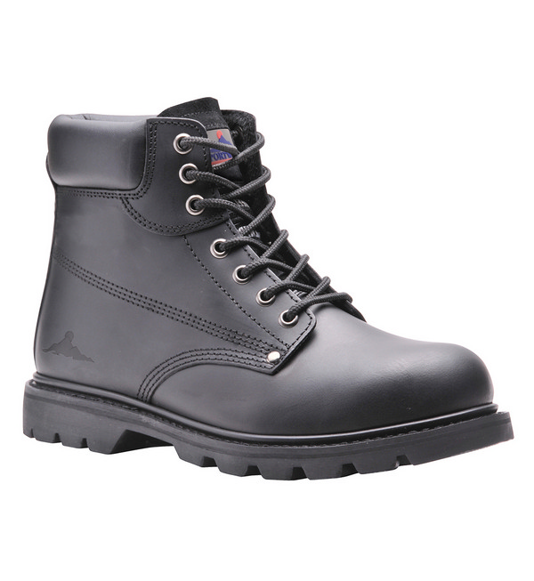 Portwest® FW16 Steelite™ Welted Safety Boots, Black, SBP