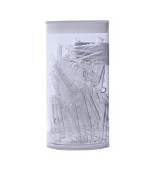 1.2 ml  Glass Round Insert For Use with 07-8000 Deep Well Microplate, Type I Borosilicate, Clear