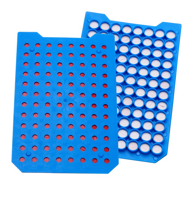 ul Mat Microplate Cover with Pre-Cut Fep/Silicone Septa, Ethylene Vinyl Acetate