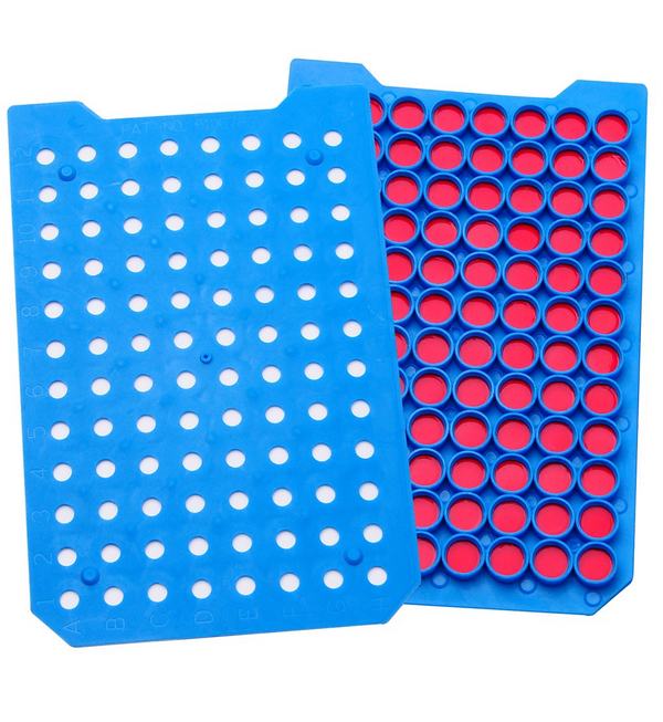 Mat Microplate Cover with PTFE/Silicone Septa, Ethylene Vinyl Acetate