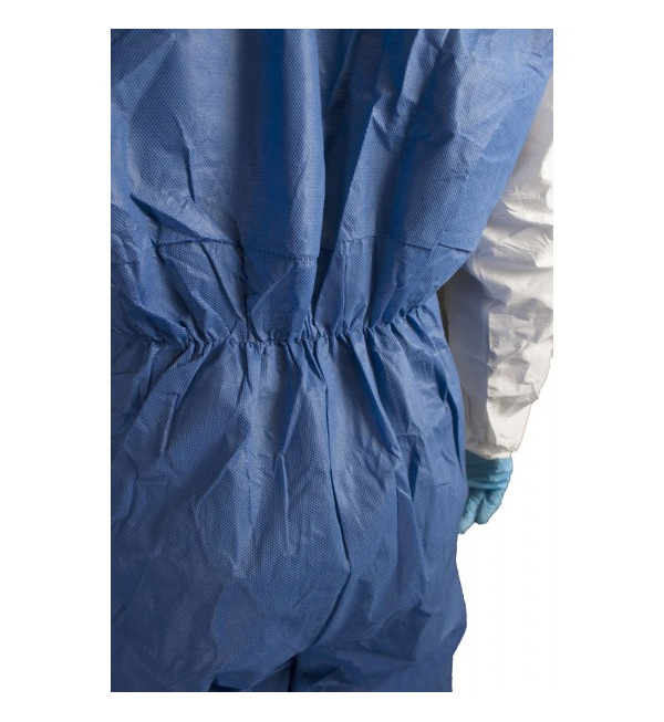 Chemsplash® Cool 67gsm Microporous Coverall Type 5/6, White/Blue