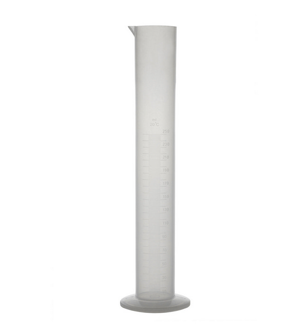 Measuring Cylinder, Round Base, PP, Moulded Graduations, 50ml
