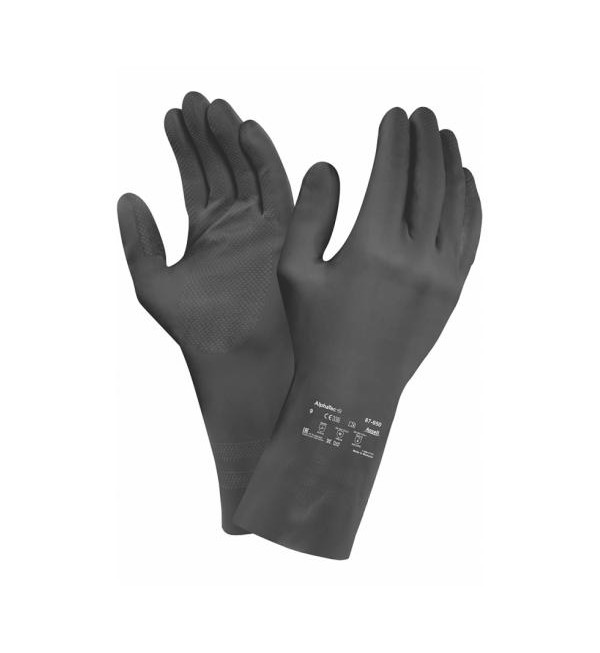 Ansell® 87-950 Extra HD Gauntlets, Black