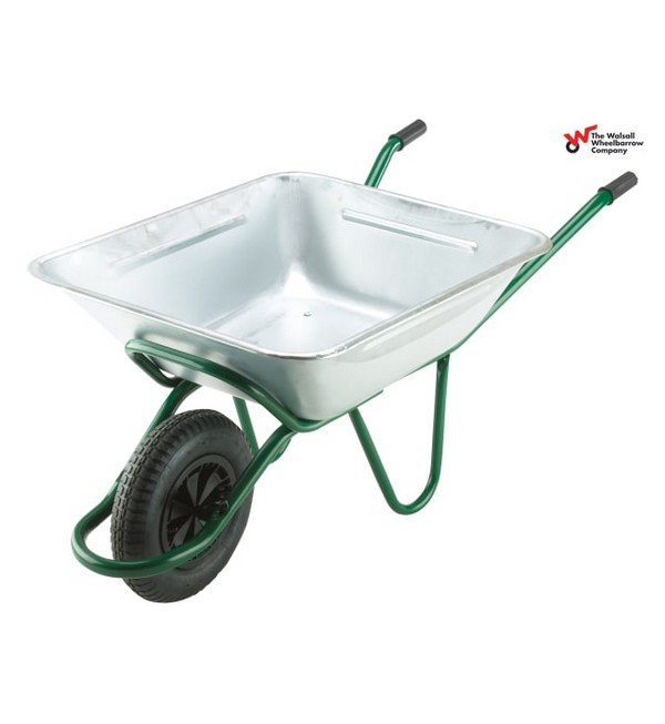 Walsall Galvanised Smithfield Agricultural Wheelbarrow, 175L