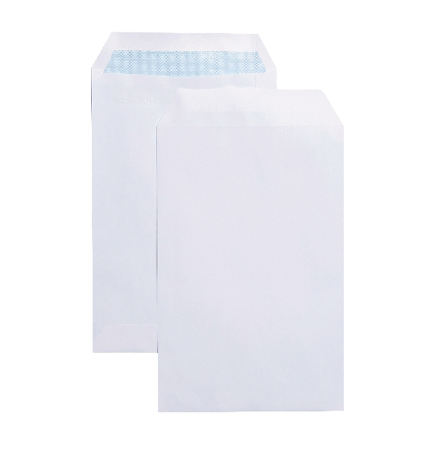 Q-Connect® Self Seal C5 White Envelopes, 90g, 500/pack