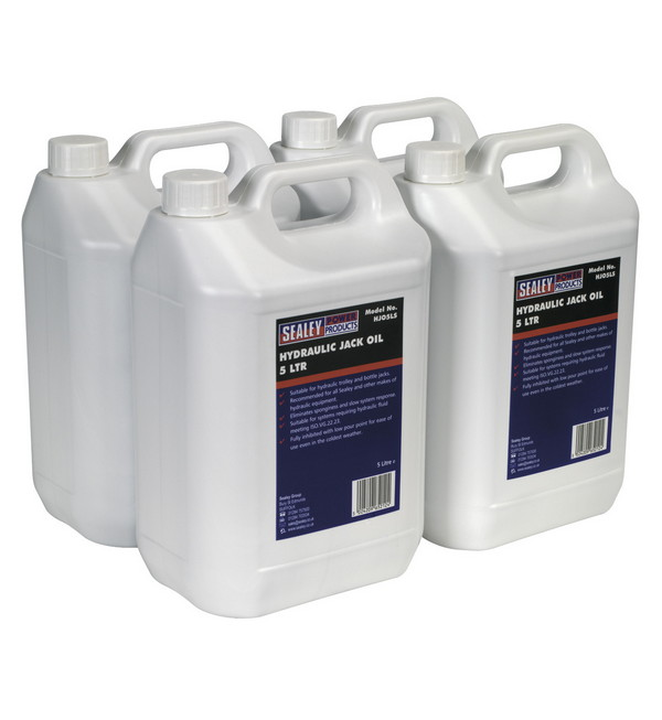 Hydraulic Jack Oil 5ltr Pack of 4