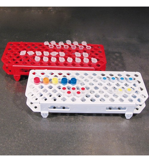 Microcentrifuge Tubes Racks Red
