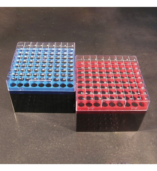 Cryotube Box 132 x 132 x 94mm Red