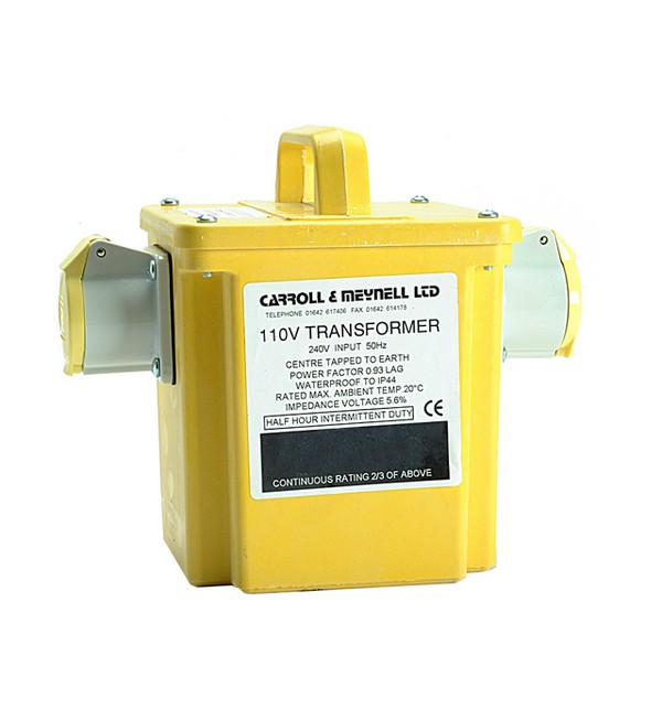 Carroll & Meynell 1500/2 Twin Outlet Transformer 1.50 Kva