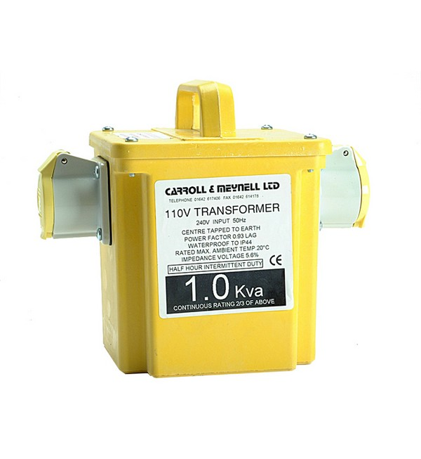 Carroll & Meynell 2250/2 Twin Outlet Transformer 2.25 Kva