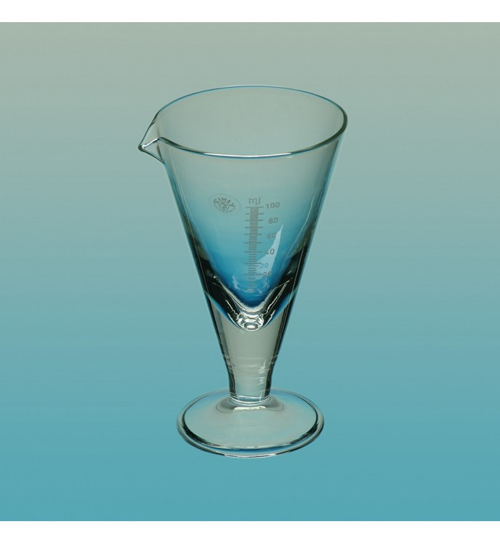 Simax Conical Measures, Borosilicate 3.3 Glass, 100ml