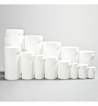 Snap Secure Container in PP, White, 20ml (no cap)