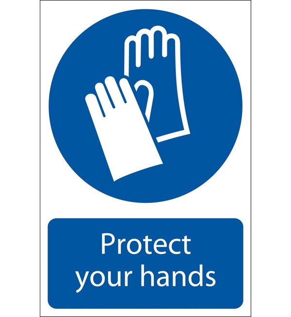 Draper® 'Hand Protection' Mandatory Sign