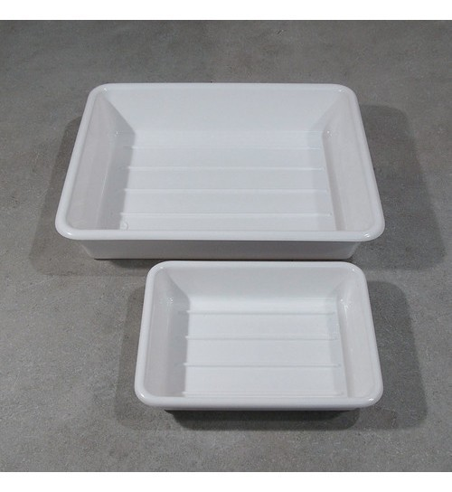 Deep Tray in PVC, 200 x 150 x 45mm